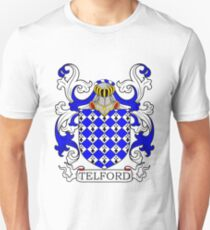 Telford Coat of Arms Unisex T-Shirt