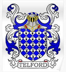 Telford Coat of Arms Poster