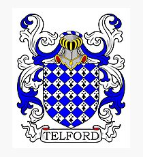 Telford Coat of Arms Photographic Print