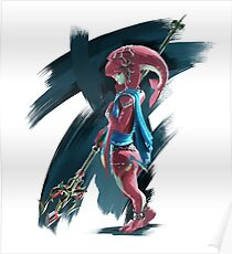 Zelda Breath Of The Wild : Mipha Poster