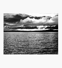 Angry Sky - Inch Island, Donegal, Ireland Photographic Print