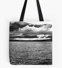 Angry Sky - Inch Island, Donegal, Ireland Tote Bag