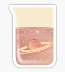 Space Chemistry: Space in a Beaker Sticker