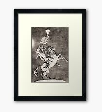 Chief Osceola Framed Print