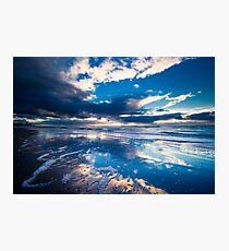 extreme sunset reflections  Photographic Print
