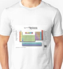 Periodic Table of Electronic Symbols  Unisex T-Shirt