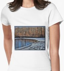 Freezing Over Women's Fitted T-Shirt