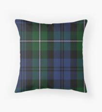 Forbes #2 Clan/Family Tartan  Throw Pillow
