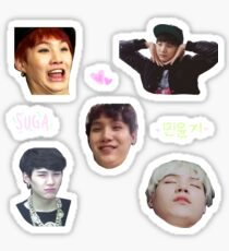 BTS SUGA - Sticker Sheet Sticker