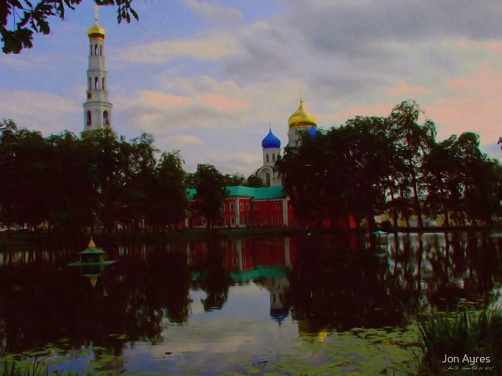 Nikolo-Ugreshsky monastery1 by Jon Ayres