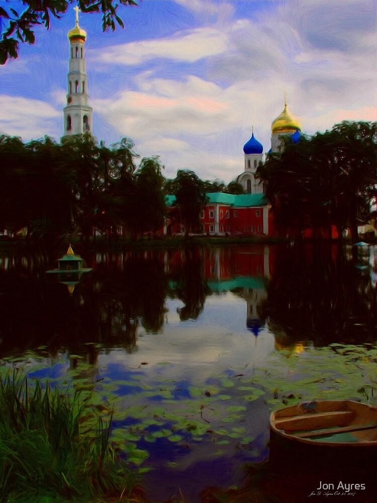 Nikolo-Ugreshsky monastery2 by Jon Ayres