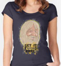 Mach es fertig Tailliertes Rundhals-Shirt