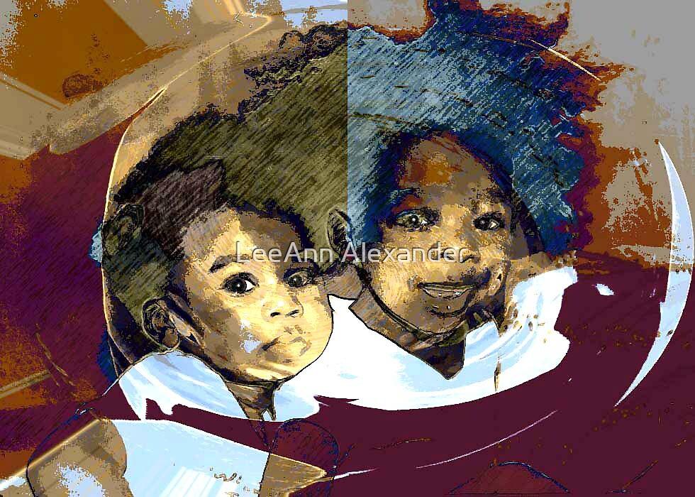 Brothers by LeeAnn Alexander