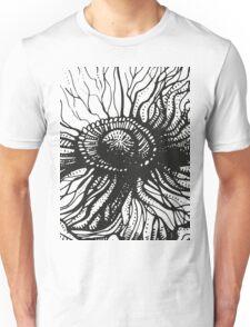 poppy graphic spring design nature illustration flower Unisex T-Shirt