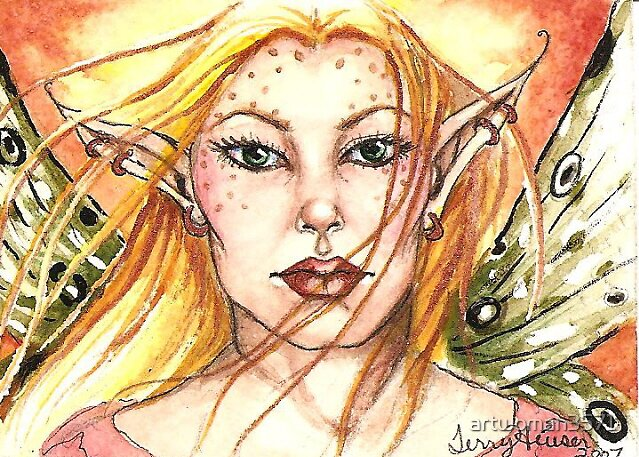 blond fairy by artwoman3571