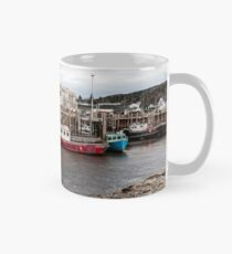 Fishing boats at low tide, Bay of Fundy Mug