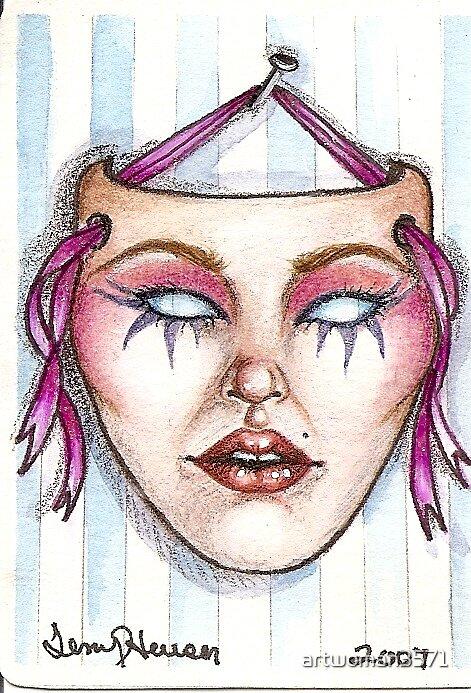 Mask by artwoman3571