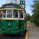 Motat Trolley car by lizdomett