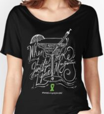 #whenlifegivesyoulyme  Make Margaritas Women's Relaxed Fit T-Shirt