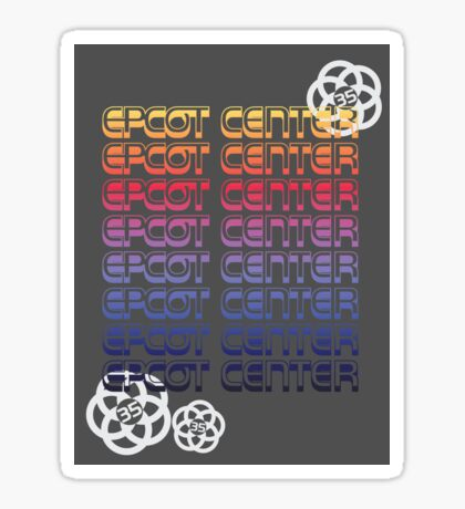 EPCOT Center 35 Sticker