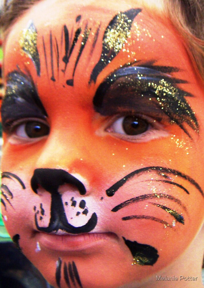 Orange Cat by Melanie Potter