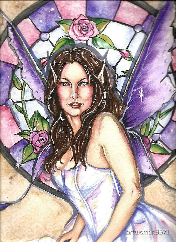 Rose Fairy by artwoman3571