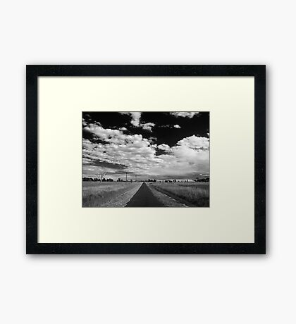My View of Thirteen March - Afternoon (South) Framed Print