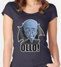Megamind - Will Ferrell - Ollo! Hello! Women's Fitted Scoop T-Shirt