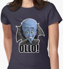 Megamind - Will Ferrell - Ollo! Hello! Womens Fitted T-Shirt