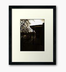Suburban  Framed Print