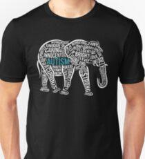 Autism Awareness Elephant Unisex T-Shirt