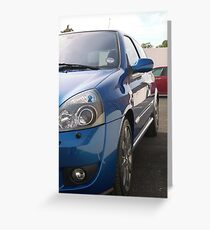 Auto Glym Greeting Card