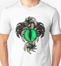 Horned Eye Green Unisex T-Shirt