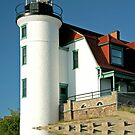 Point Betsie Lighthouse by Jan Cartwright