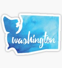 Washington [blue] Sticker