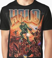 Halo-Doom Graphic T-Shirt