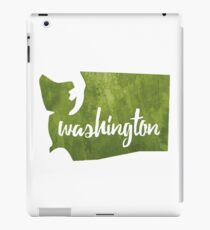 Washington [green] iPad Case/Skin
