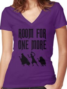 Room For One More Women's Fitted V-Neck T-Shirt