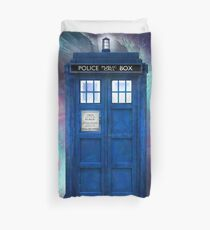 Doctor Who Tardis in Space Duvet Cover