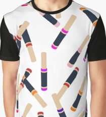 Lip Collage Graphic T-Shirt