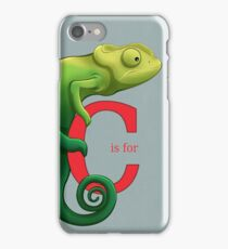 C is for Chameleon iPhone Case/Skin