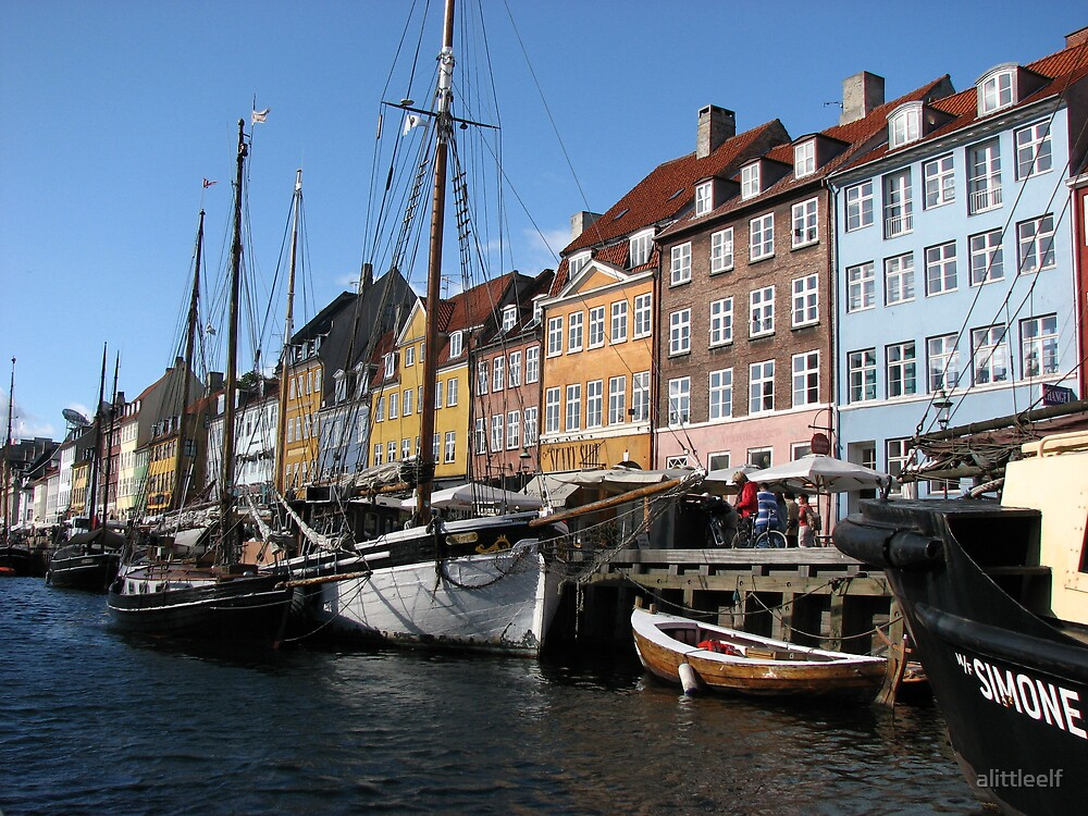 Colours of Copenhagen by alittleelf