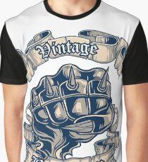 Vintage Bro Fist Graphic T-Shirt