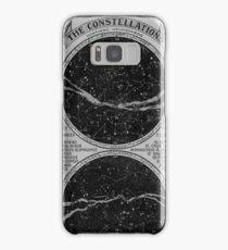 Constellations Old Book Print Samsung Galaxy Case/Skin