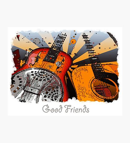 Good Friends 2 Photographic Print