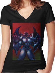 Obelisk the Tormentor Women's Fitted V-Neck T-Shirt