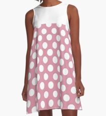 Cute Polka Dots A-Line Dress