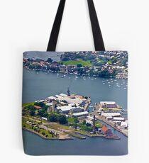 Cockatoo Island Tote Bag