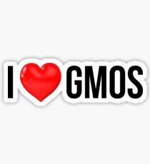 GMOs Sticker