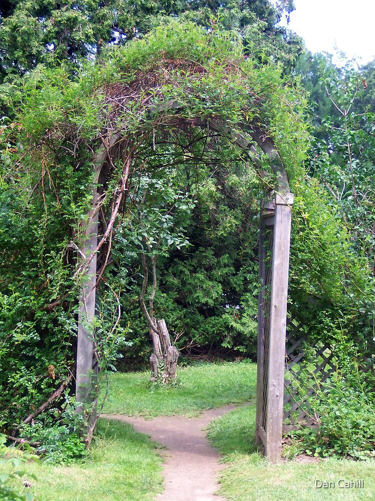 Garden Archway by Dan Cahill